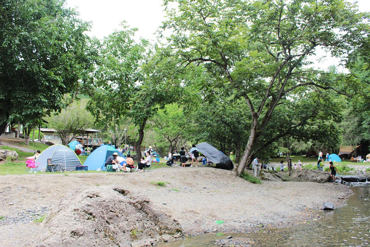 三滝堂キャンプ場